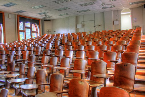 Lecture Hall, Auditorium, Seats, Chairs