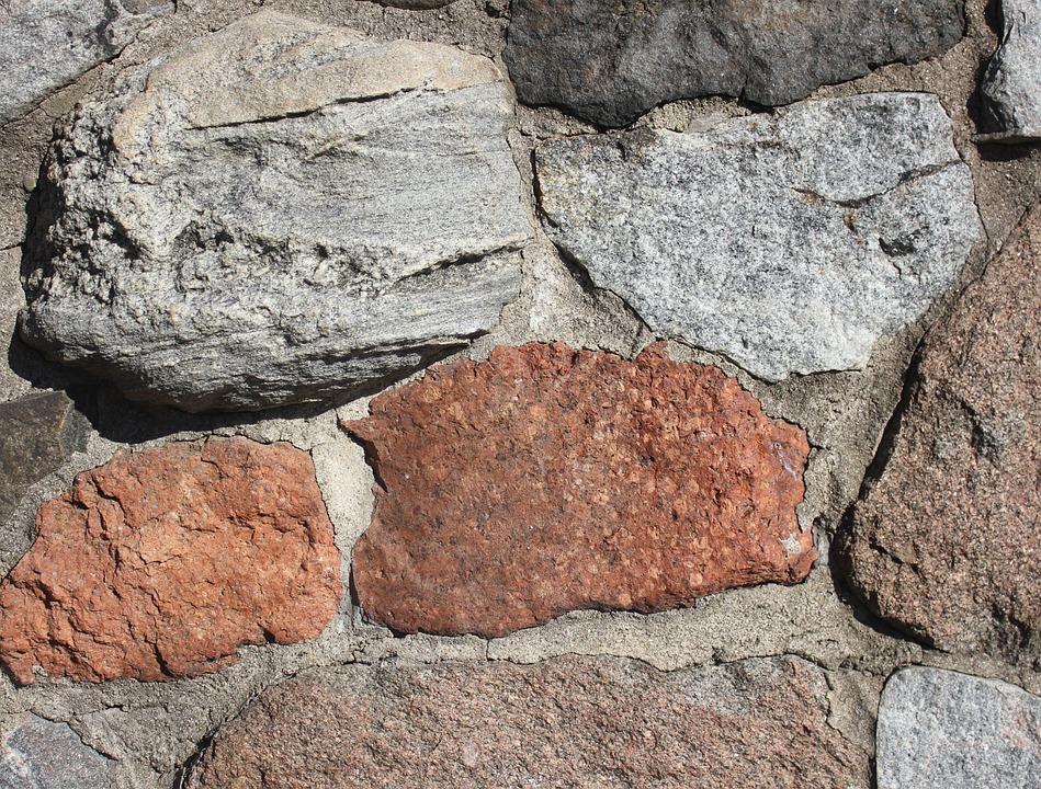 piedra la pared piedras naturales texturas grandes