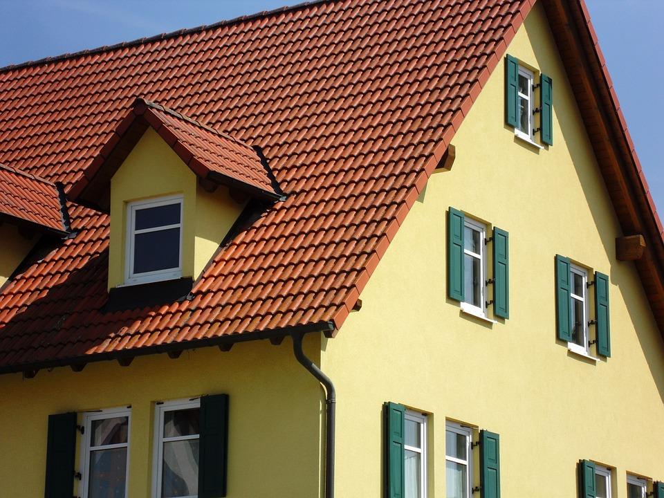 Bekannt Haus Gelb Fassade - Kostenloses Foto auf Pixabay EH55