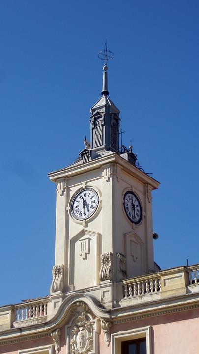 時計, 建物, 時計塔
