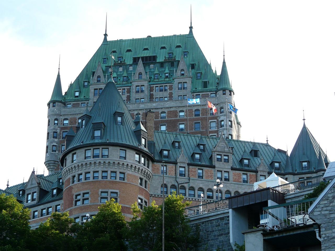 Castle Quebec City Frontenac
