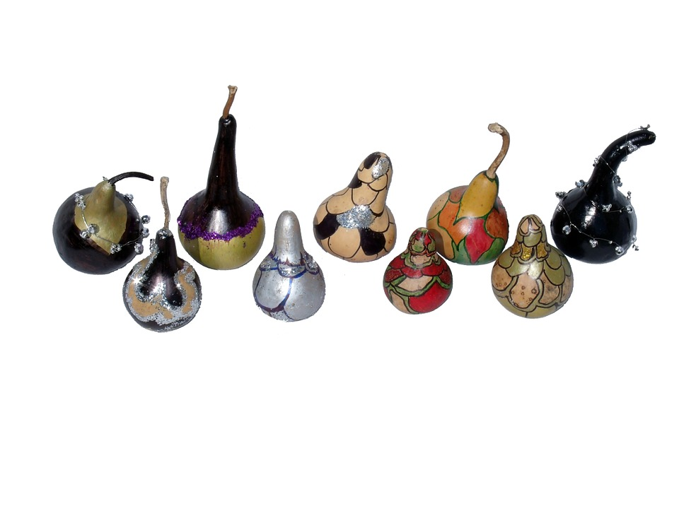gourds african gourds christmas ornaments
