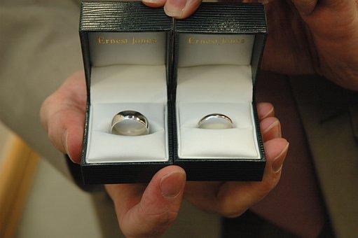 Ringe, Hochzeit, Liebe, Ehe, Paar