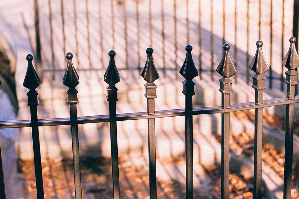 Zaun Stahl Spitzen Kostenloses Foto Auf Pixabay