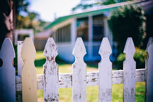 Picket Fences, Fence, Fencing, Neighbor