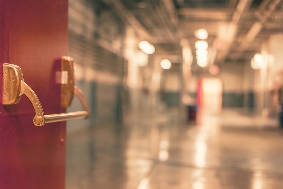 门, 条目, 医院, 通道, 红色, 处理