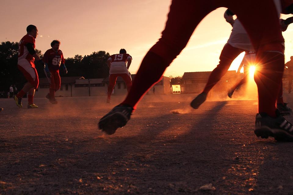 Fußball, Sport, Spieler, Team, Mannschaftssportarten