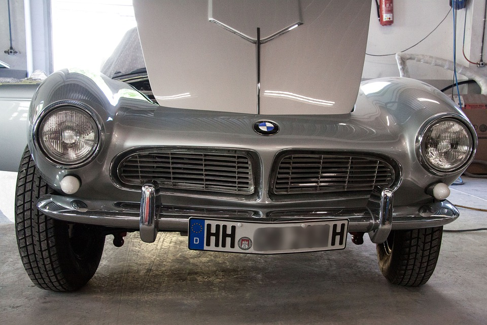 Bmw 507 Engine Compartment Two Seater Roadster