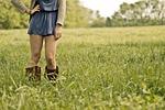 countrygirl, dziewczyna, nogi