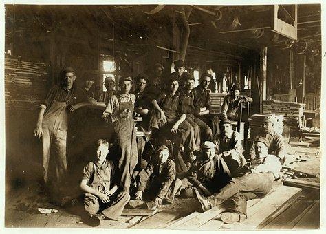 Trabajo Infantil, Histórico, Personas
