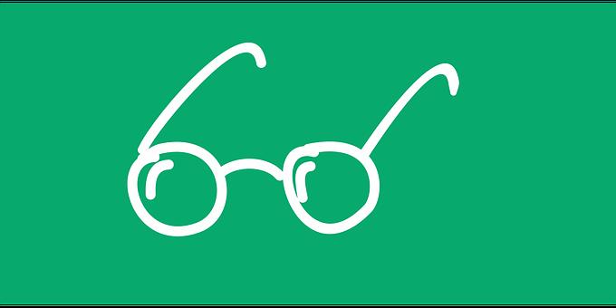 メガネ, 接眼レンズ, バグ, 視力の欠陥, 眼鏡, 女性のため, 視力, 図