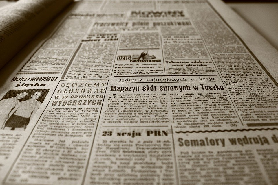 Free Photo Newspaper Newspaper Delivery  Free Image On Pixabay