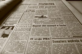Old Newspaper, Newspaper, The 1960S