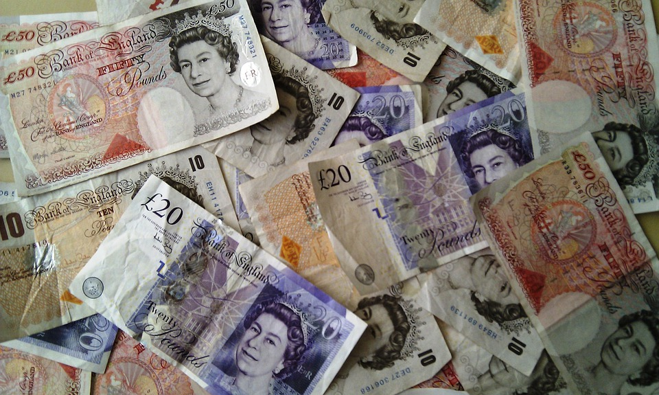 お金, 通貨, ファイナンス, 富, ビジネス, 成功, 背景, 英ポンド, スターリング, 現金, ポンド