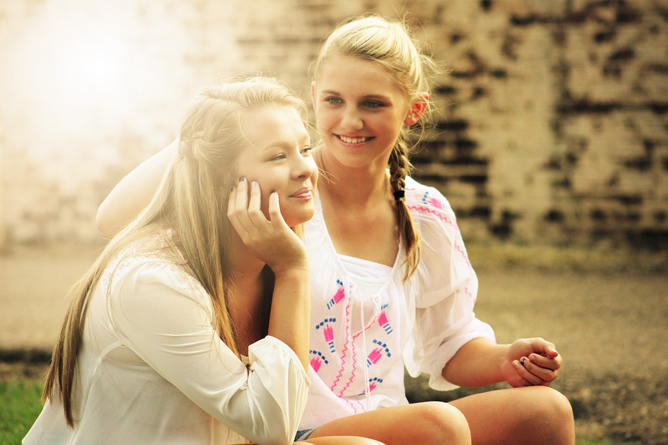 Pretty girls happy free photo on pixabay pretty girls happy young smiling persons people voltagebd