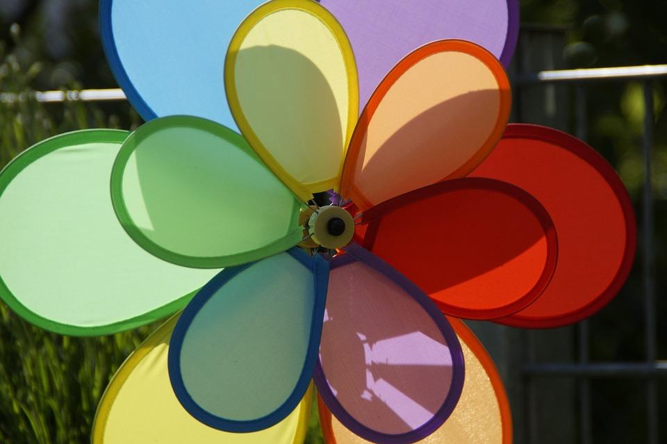 Sehr Windrad Windrädchen Bunt - Kostenloses Foto auf Pixabay UO11