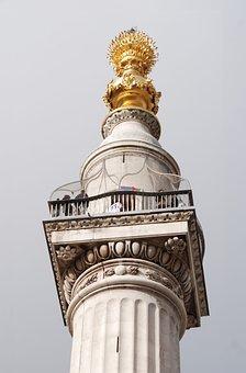 Monument, Grand, Le Feu, Londres