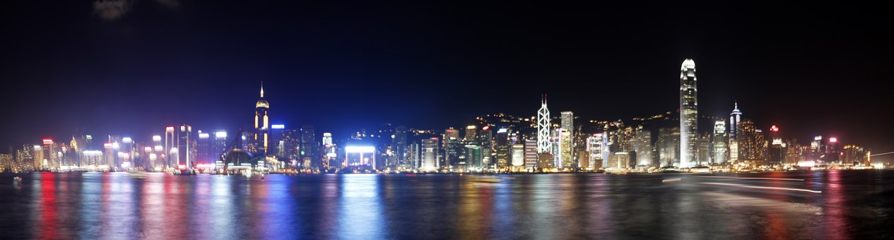 Hong Kong, City, Night, Beautiful
