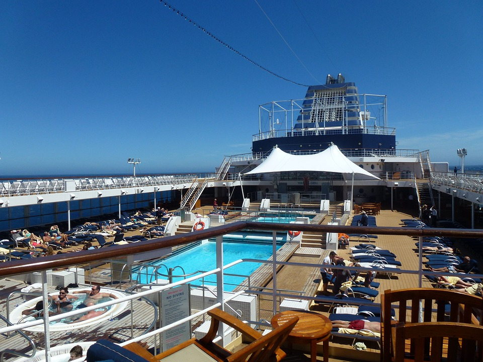 free photo cruise ship deck of ship ship free image