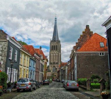 Doesburg, Nederland, Stad, Stedelijke