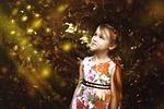 girl, firefly, fairy tales