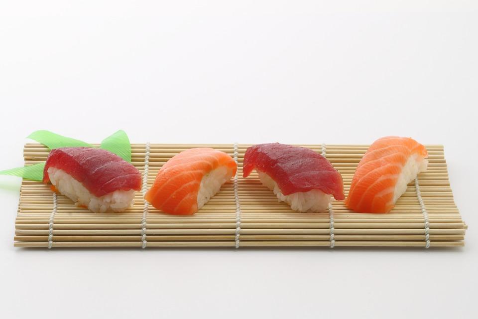寿司、日本料理、おいしい、アジア料理、食べ物、おいしい