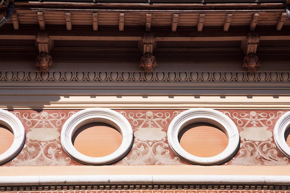 Frieze Architecture Linear Horizontal Style Element