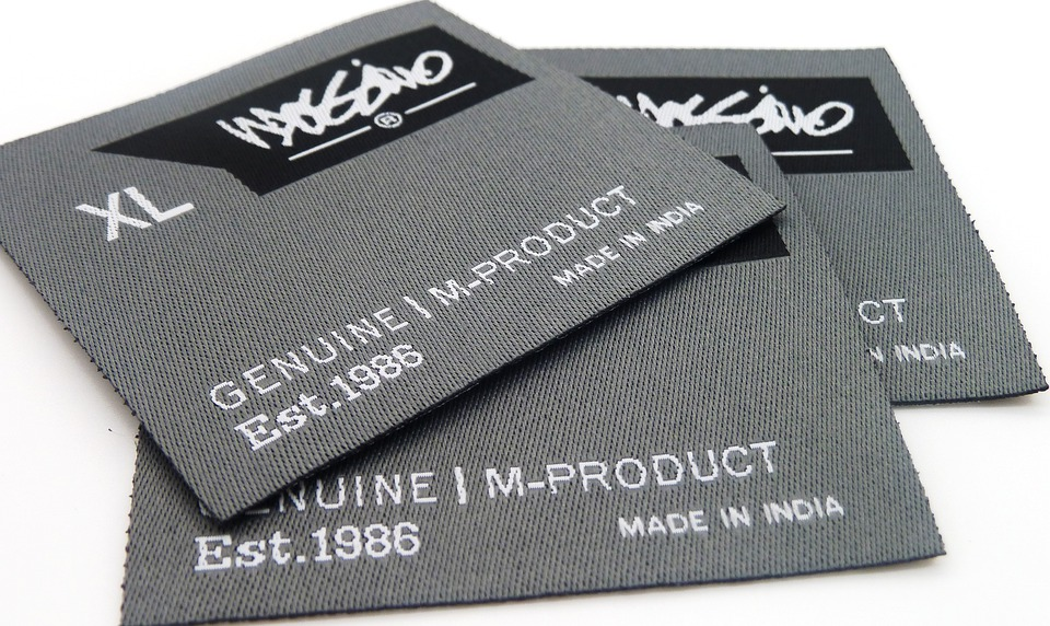 Free photo: Label, Clothing Label, Woven Label