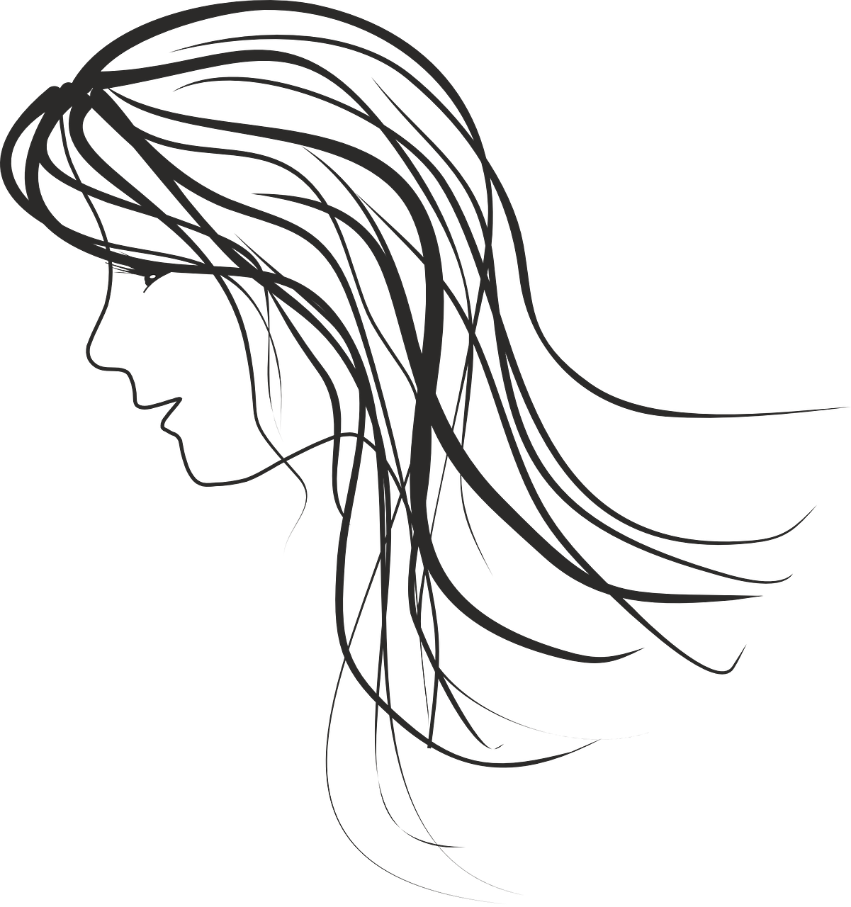 Woman Women Sketch Free Vector Graphic On Pixabay