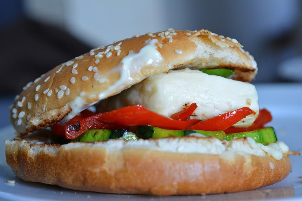 Hamburger, Halloumi, Challúmi, Halumi, Burger