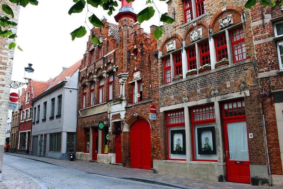 België, Brugge, Middeleeuwen, Romantische, Historisch