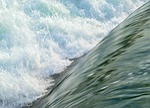 rapids, water, turbulence