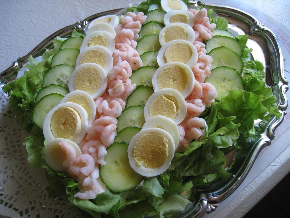 Sandwich Kage æg Salat Agurk Gratis Foto På Pixabay