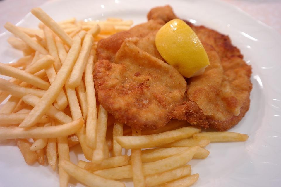 Kostenloses Foto: Wiener Schnitzel, Schnitzel ...