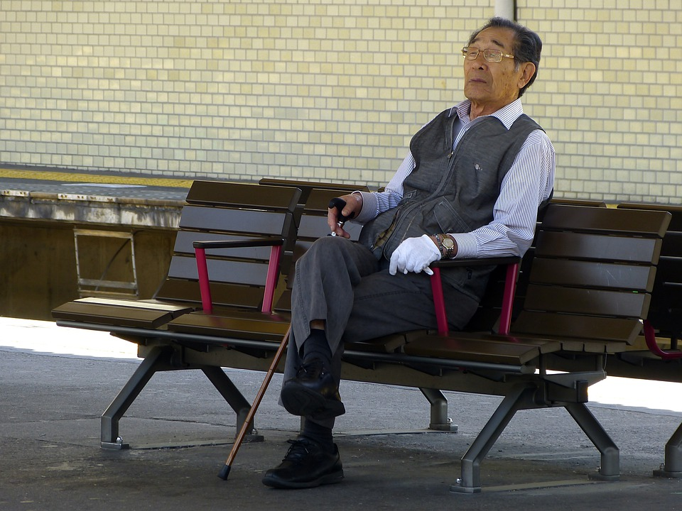 Japanese Old Man Sitting  Free Photo On Pixabay-2997