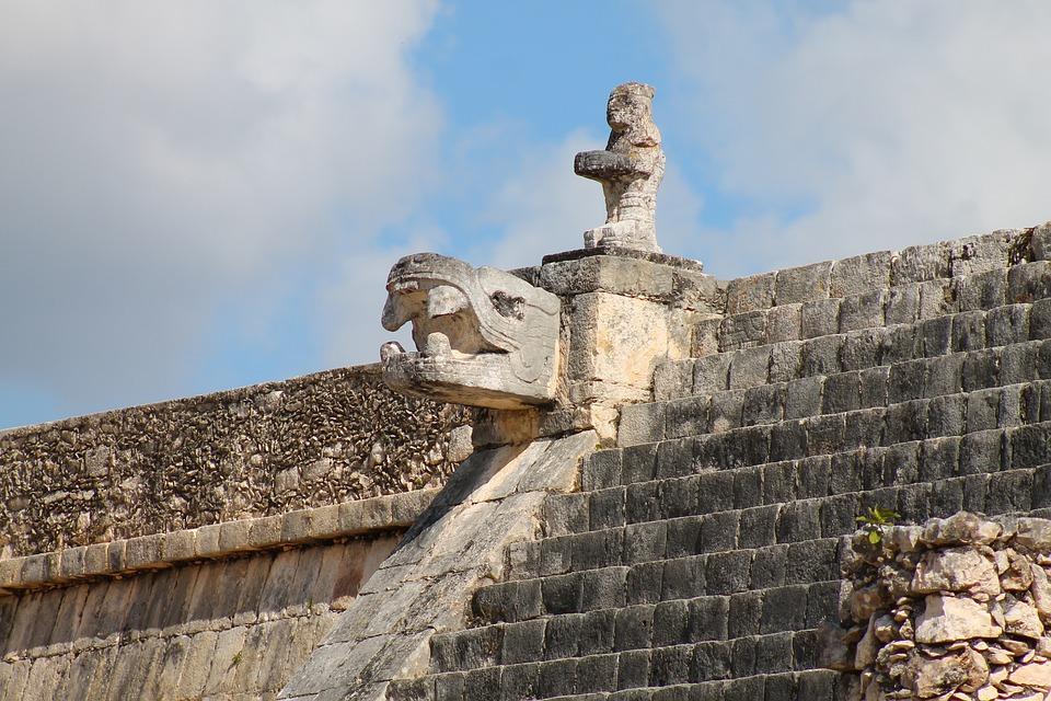 Mexico, Chichen Itza, Pyramid, Kukulcan