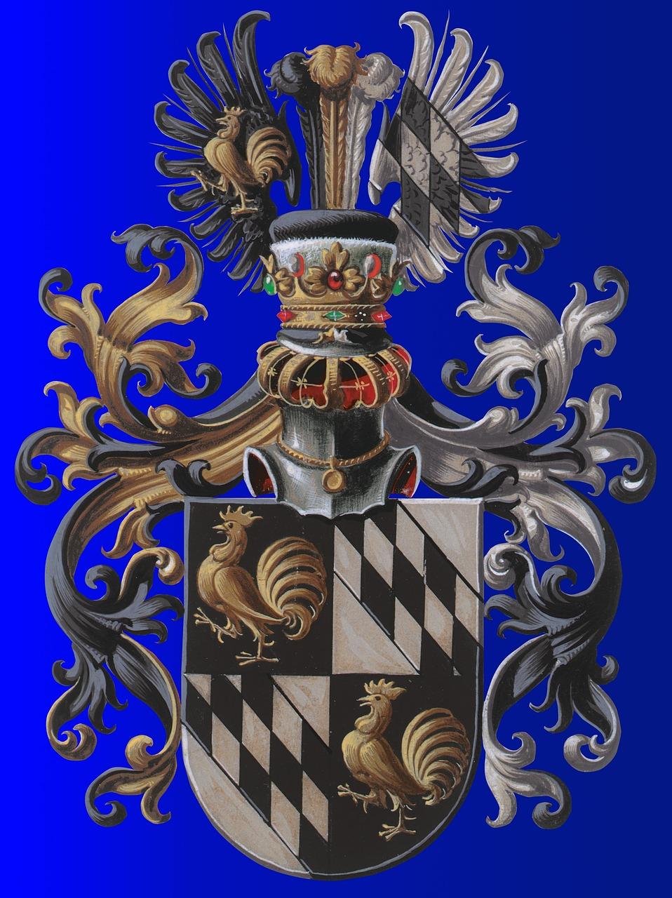 это только картинки европейские гербы отличие клиньев закладок