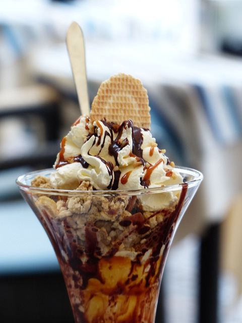 Free Photo Ice Cream Sundae Ice Dessert Free Image On