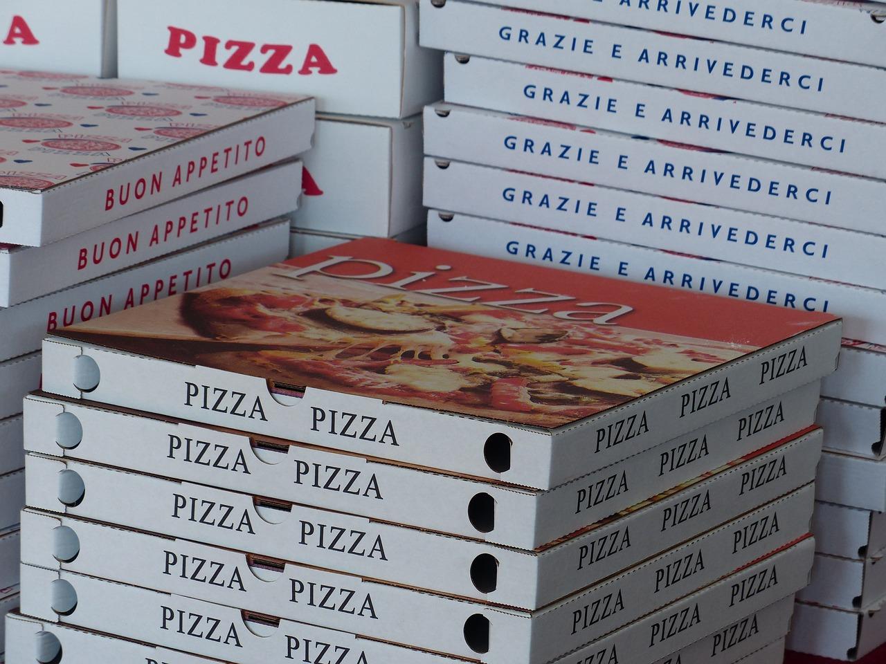 Pudełek Po Pizzy, Pola, Usługa Pizzy, Pizza Transportu