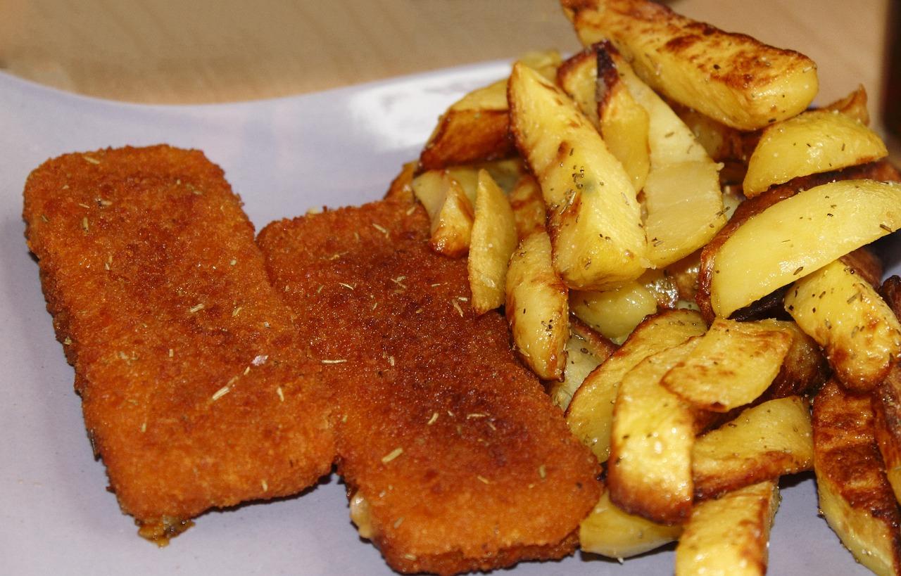 рыба жареная в картофеле фото вам такой шлем