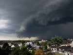 thunderstorm, storm, rain