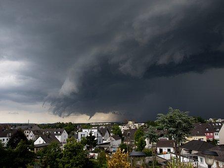 Thunderstorm, Storm, Rain, Clouds, Sky