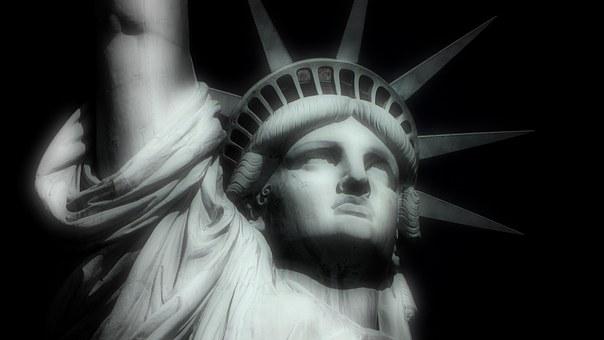自由の女神, ニューヨーク, ビッグアップル, 米国, アメリカ合衆国