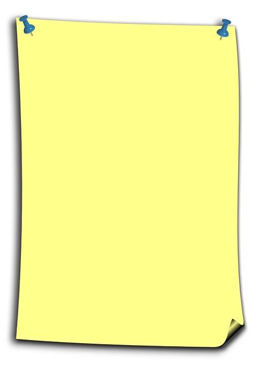 Stickies Note Yellow · Free image on Pixabay