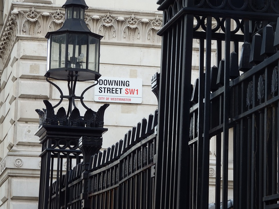 London, England, Great Britain, Downing, Street