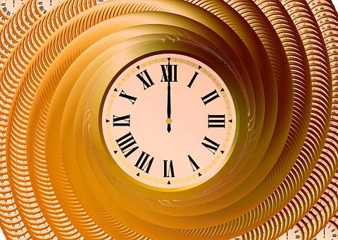 Horloge, Temps, Indiquant Le Temps