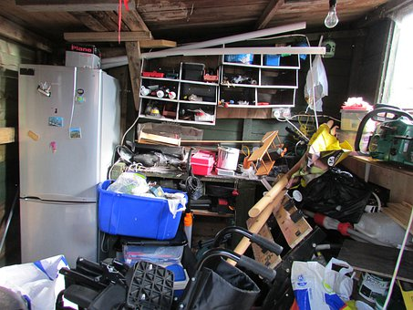 Clutter Mess Untidy Garden Shed Workshop S