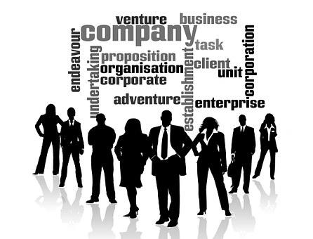 个人, 组, 剪影, 男子, 女子, 股份制企业, 基础, 组织, 公司, 冒险