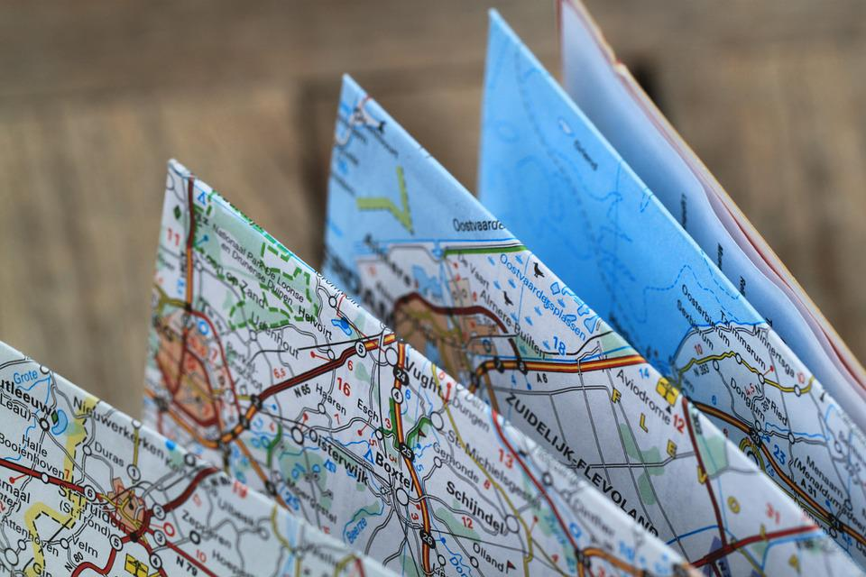 Free photo Folding Map Road Map Travel Route Free Image on – Traveling Maps