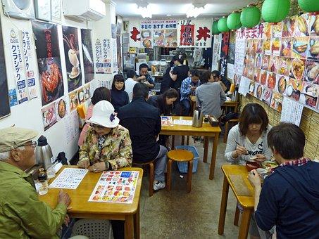 日本, レストラン, 食品, 刺身, おいしい, 食べること, 食事